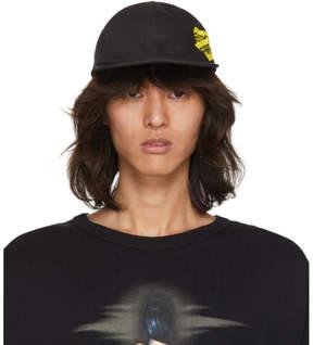 Off-White Black and Yellow Firetape Cap