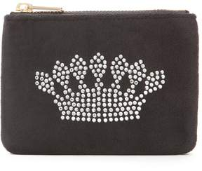 Juicy Couture Bel Air Bijoux Ultra Luxe Velour Coin Purse