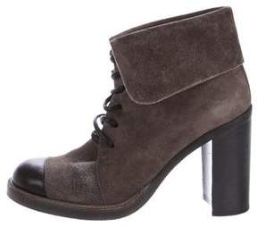 Reed Krakoff Suede Lace-Up Boots