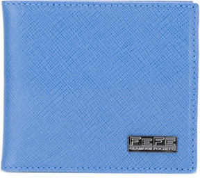 Fefè logo plaque wallet