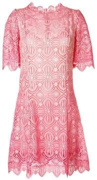 Ermanno Scervino embroidered shift midi dress