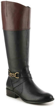 Lauren Ralph Lauren Women's Men'sna Two-Toned Riding Boot