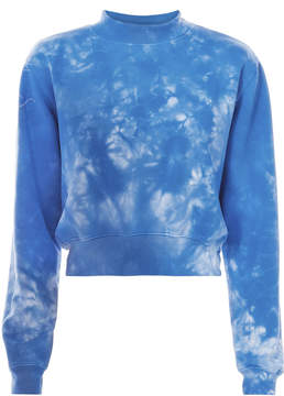 Cotton Citizen Milan Tie-Dye Cropped Sweatshirt