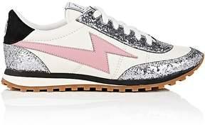 Marc Jacobs Women's Astor Leather & Glitter Sneakers