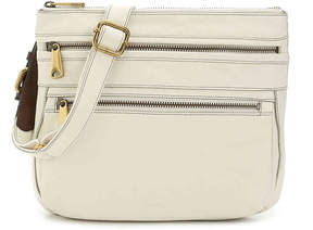 Fossil Voyager Leather Crossbody Bag - Women's