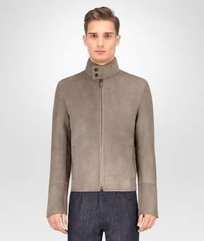 Bottega Veneta Limestone Shearling Jacket