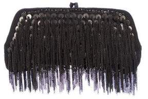 AllSaints Chainmail Embellished Clutch