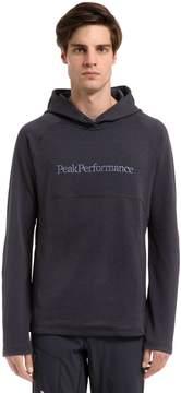 Peak Performance Will Hooded Mid Layer Sweatshirt