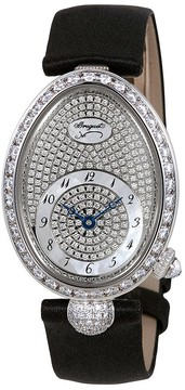 Breguet Reine de Naples Diamond Pave Dial Ladies Watch
