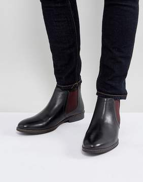 Red Tape Chelsea Boots With Contrast