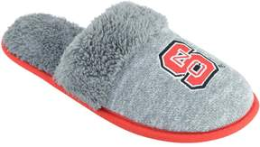 NCAA Women's North Carolina State Wolfpack Sherpa-Lined Clog Slippers