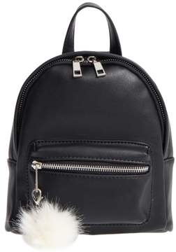 Bp. Faux Leather Mini Backpack - Black