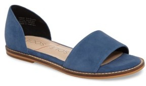 Sole Society Women's 'Harlow' Flat D'Orsay Sandal