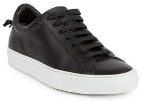 Givenchy Urban Street Knots Leather Low-Top Sneakers