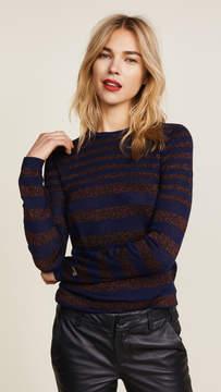 Bella Freud Deep Disco Stripe Sweater