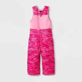 Stevies Toddler Girls' Snow Bibs - Pink