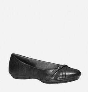 Avenue Jane Textured Strap Ballet Flat