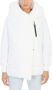 Bacon Big Blanket 78 Puffer White Coat