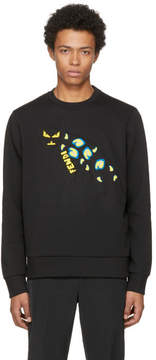 Fendi Black Jaguar Sweatshirt