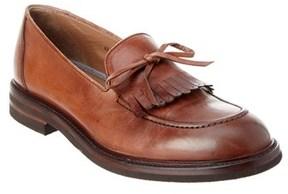 Brunello Cucinelli Leather Loafer.