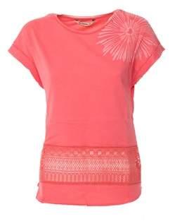 Desigual Women's Red Cotton T-shirt.