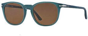 Asstd National Brand Persol Sunglasses - Po3007 / Frame: Ossidiana Lens: Brown Polarized