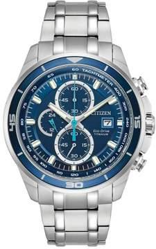 Citizen CA0349-51L Silver Titanium Super Titanium Men's Eco-Drive Watch