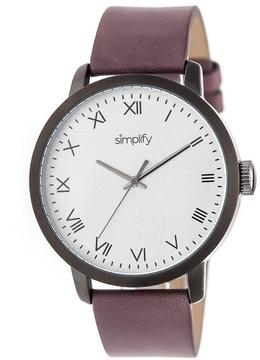 Simplify The 4200 Collection SIM4206 Black Stainless Steel Analog Watch