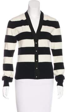 Bouchra Jarrar Wool Striped Cardigan