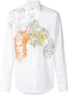 Etro paisley design shirt