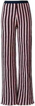 Aviu striped wide leg trousers