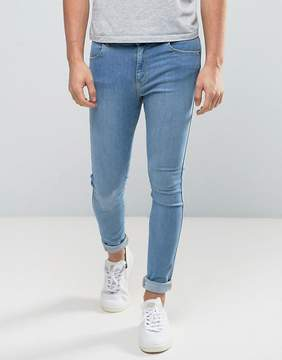 Dr. Denim Lexy Extreme Muscle Fit Jean Light Blue