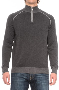 Agave Denim Lundy Sweater - Zip Neck (For Men)