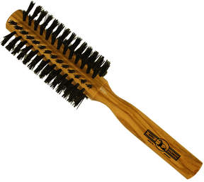 Smallflower 7-Row Round Olivewood Brush / Boar by Gold-Dachs (21.5cm Brush)