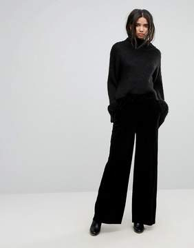 Dr. Denim Wide Leg Velvet PANTS