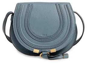 Chloe 'Mini Marcie' Leather Crossbody Bag - Blue