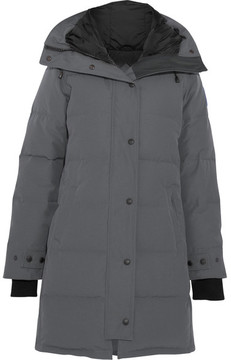 Canada Goose Shelburne Quilted Shell Down Parka - Anthracite