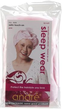 Andre Satin Touch On Pink Sleep Cap
