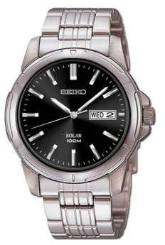 Seiko Mens Stainless Steel Dress Watch