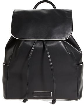 Vera Bradley Black Drawstring Backpack - BLACK - STYLE
