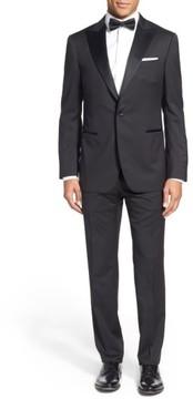 Pal Zileri Men's Classic Fit Wool Tuxedo