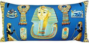 One Kings Lane Vintage Hermès Tutankhamun Silk Scarf Pillow
