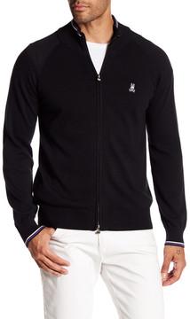Psycho Bunny Front Zip Sweater