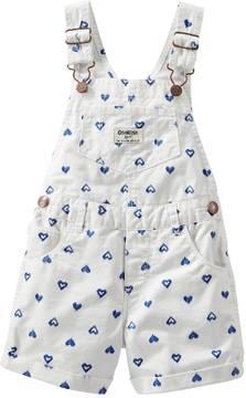 Osh Kosh Toddler Girl Printed Shortalls