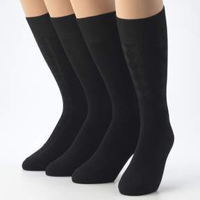 Croft & Barrow Men's 4-pk. Dress Socks