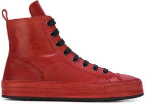 Ann Demeulemeester hi-top sneakers