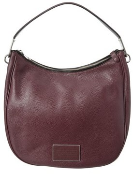 Marc by Marc Jacobs Ligero Leather Hobo. - BROWN - STYLE