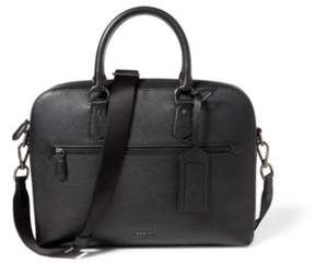 Ralph Lauren Pebbled Leather Briefcase Black One Size