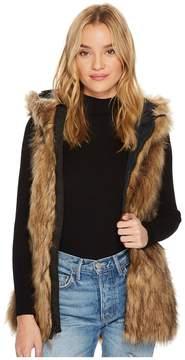 Volcom Snow Rhea Faux Fur Vest Women's Vest