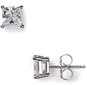 Crislu Faceted Princess-Cut Stud Earrings, 1.5 ct. t.w.